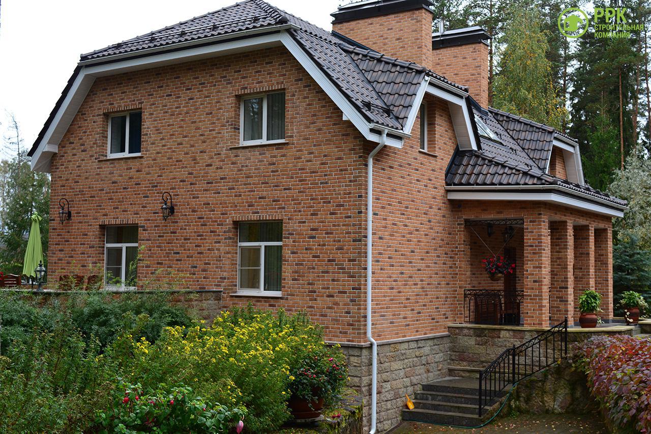 Загородный дом из газобетона в Ильичево