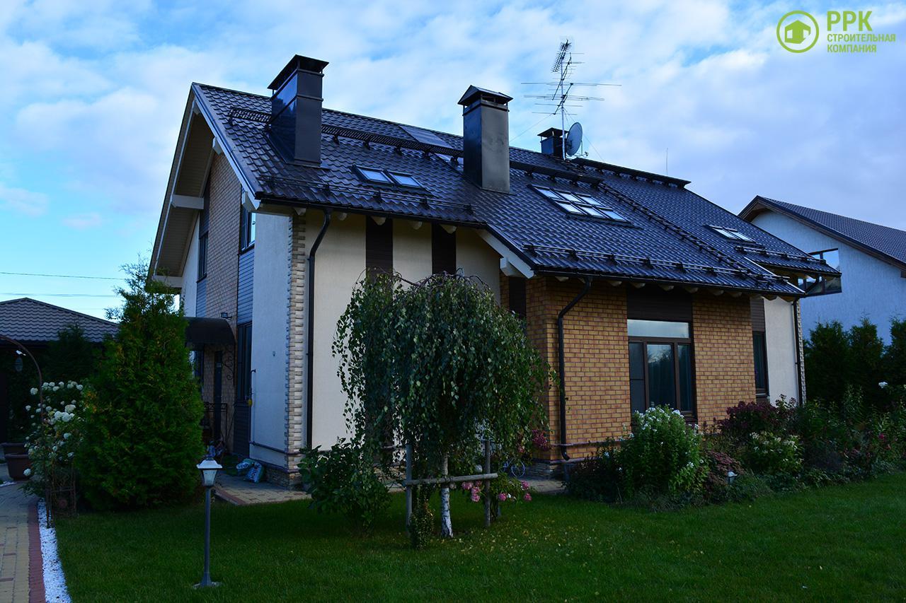 Загородный дом из газобетона в Александровской, фото 30