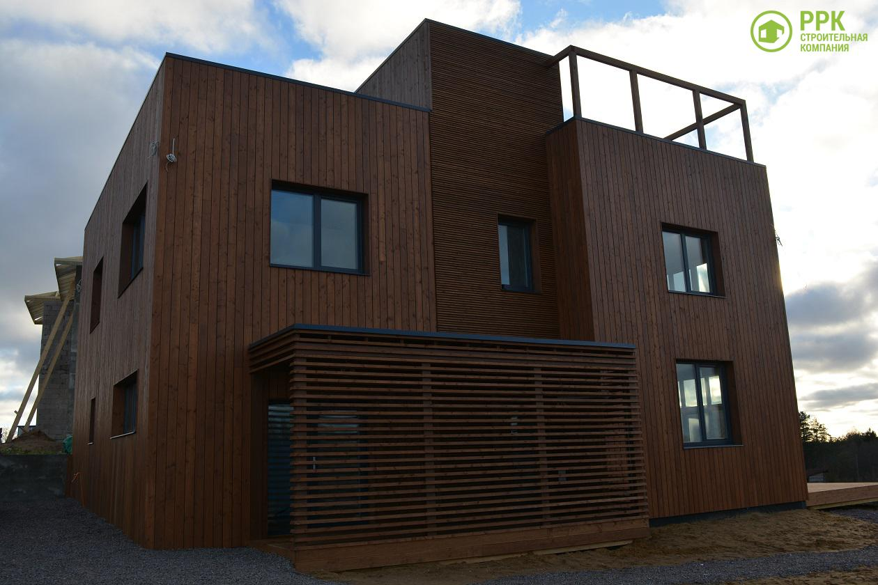 Дом в современном стиле — Строительная компания РРК