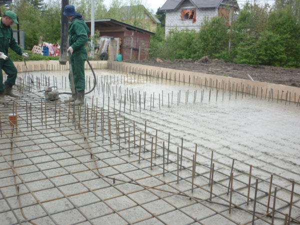 Фундаментная плита: проектирование и строительство