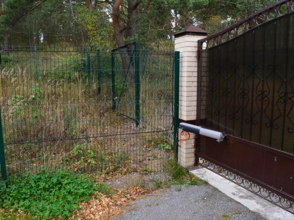 Фундамент под забор для загородного дома