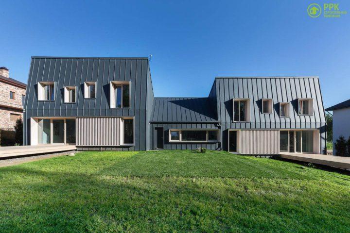 Современный стиль в архитектуре частного дома.