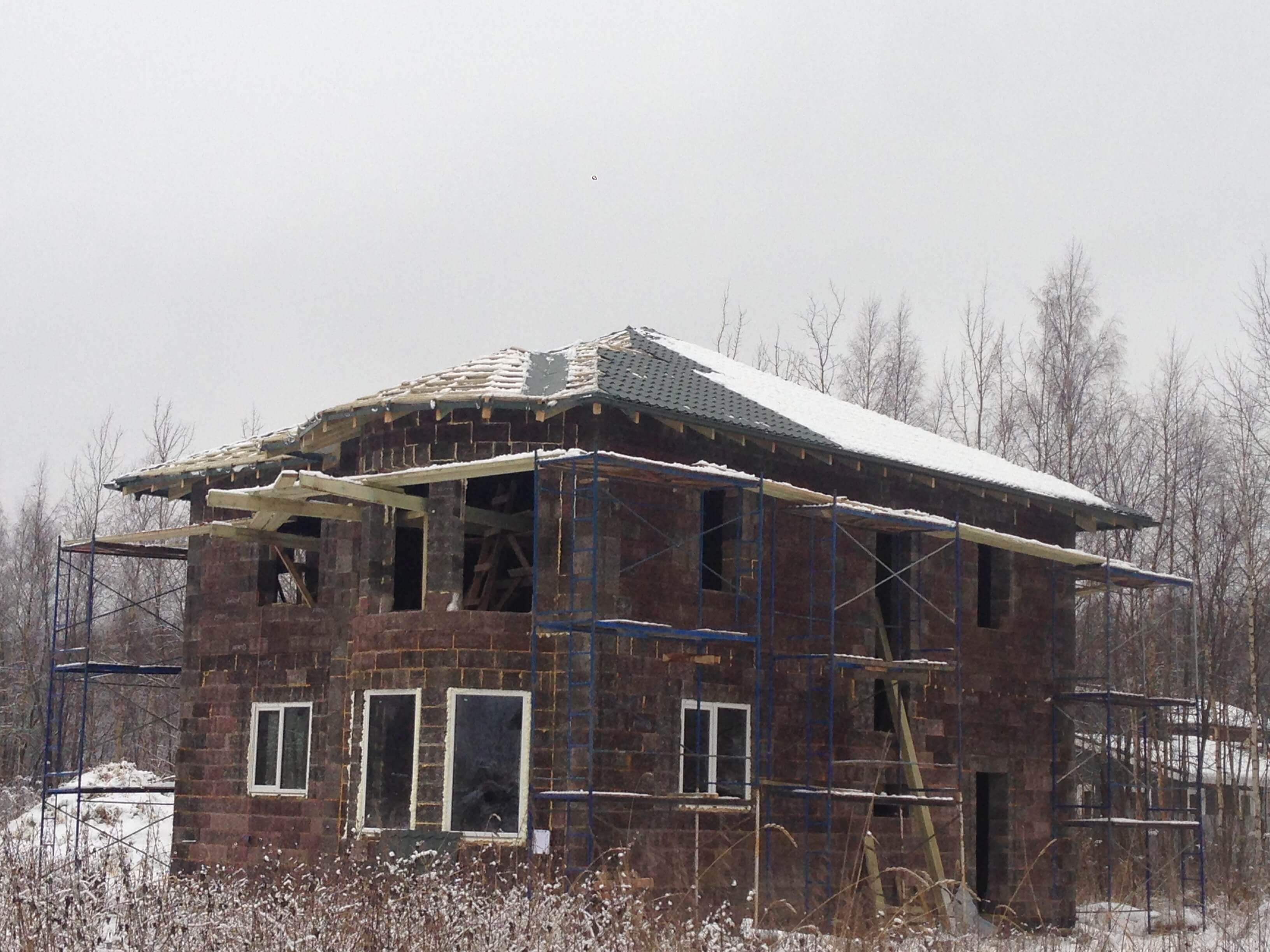 Дома из блоков DURISOL