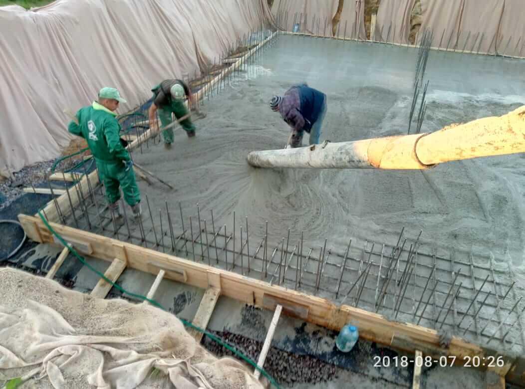 Цокольный этаж рабочие