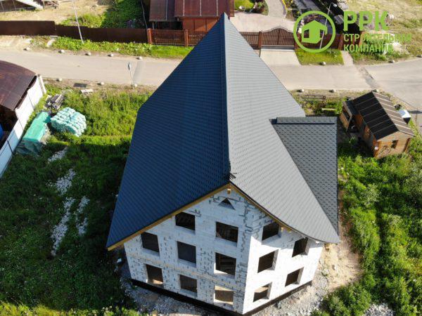 Гибкая черепица Docke (Дёке)/ Кёльн/ Чернослив