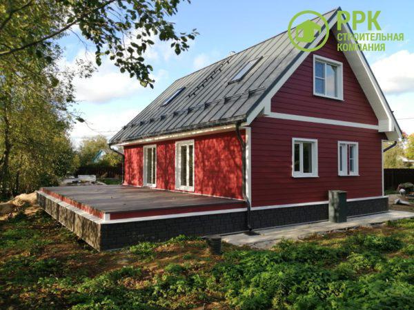 Полная реконструкция дома с применением фасадных панелей Decover (Дековер)